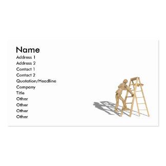 ClimbLadder090410 Name Address 1 Address 2 Business Card Templates