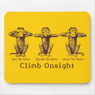 ClimbOnsight! Mouse Pads