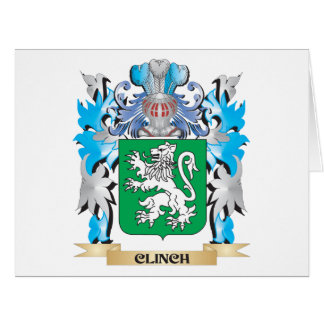 Clinch Coat of Arms - Family Crest Greeting Cards