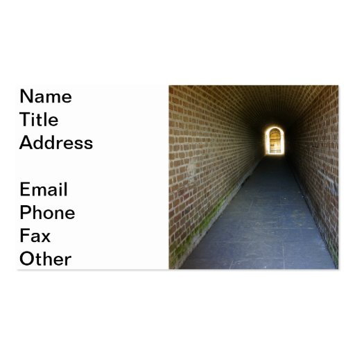 Clinch Hall Business Card Template
