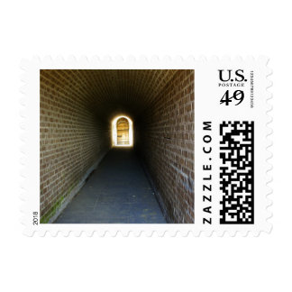 Clinch Hall Postage Stamp