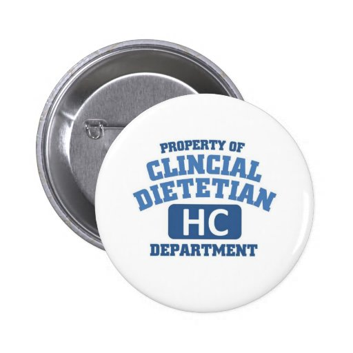 Clincial Dietitian Button
