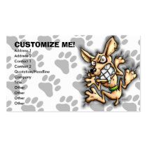 chihuahua, chihuahuas, dog, shirt, t-shirt, funny, funny businesscards, humor, Business Card with custom graphic design