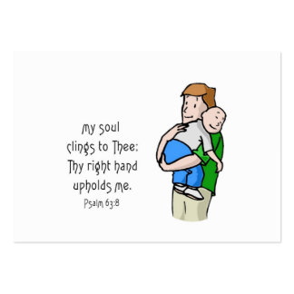 Cling & Talk Much Whispers Large Business Card