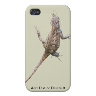Clinging Eastern Fence Lizard iPhone 4 Cover