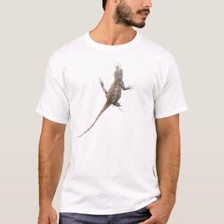 Clinging Eastern Fence Lizard T-Shirt
