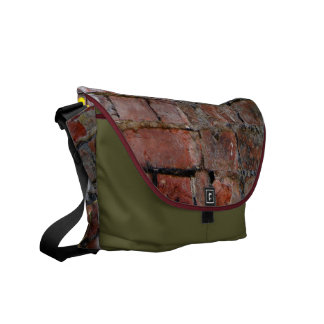 Clinging On Poppy Courier Bag