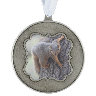 Clinging Squirrel Ornament