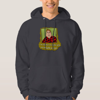 Clinging to Faith in God Hoodie