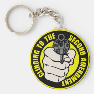 Clinging to the Second Amendment Keychain