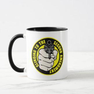 Clinging to the Second Amendment Mug