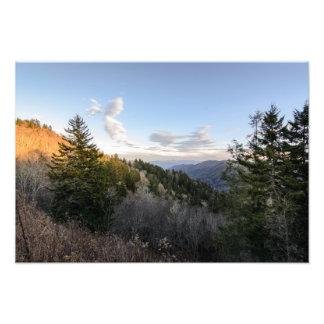Clingman's Dome at Smoky Mountain Photo Print