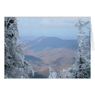 Clingmans Dome @ Gatlinburg Tennessee,October 2006 Greeting Card