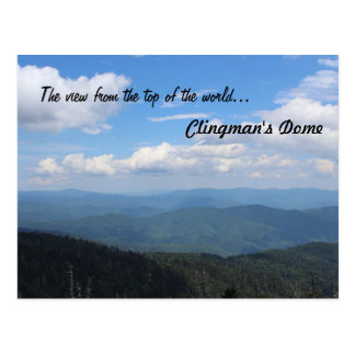 Clingman's Dome Post Card