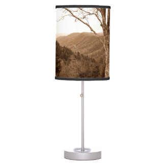 Clingmans Dome Smoky Mountain Tennessee Lamp