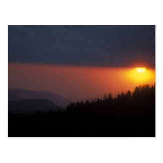 Clingman's Dome Sunset, Great Smoky Mountains Postcards
