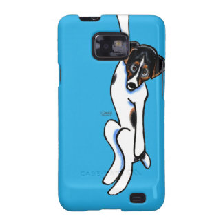 Clingy Jack Russell Off-Leash Art™ Galaxy SII Covers