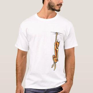 Clingy Red Miniature Pinscher T-Shirt
