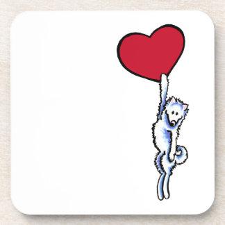 Clingy Samoyed Coaster