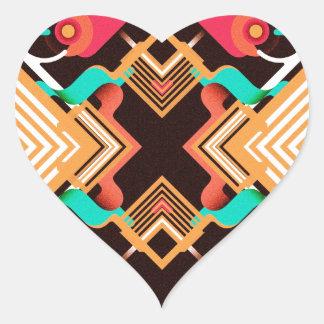 Clinic Heart Sticker