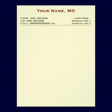 Clinic Letterhead (White Linen) letterhead
