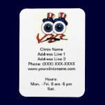 Clinic Promotional Magnet (Dancing Eyes) magnets