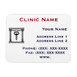 Clinic Promotionasl Magnet Template 1 Rectangle Magnets