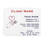 Clinic Promotionl Magnet -Horizonttl/Heart Dr.