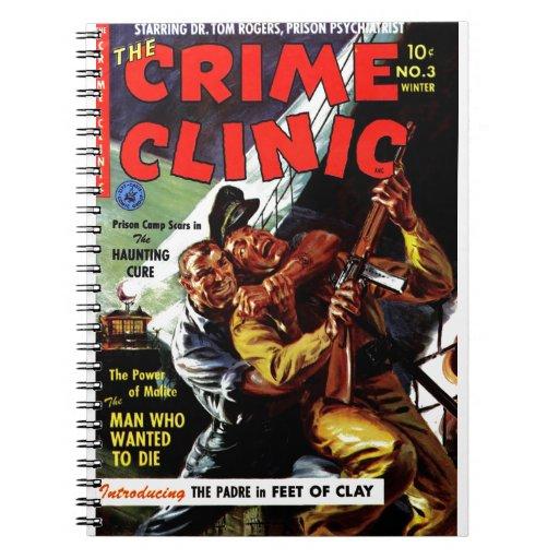 Clínica #3 - el hombre del crimen que quiso morir libretas espirales