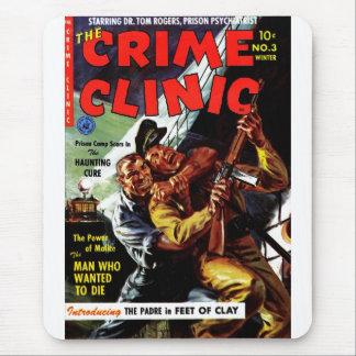 Clínica #3 - el hombre del crimen que quiso morir mousepad