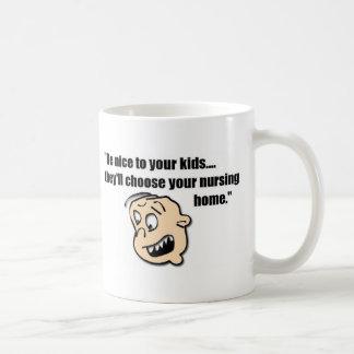 Clínica de reposo taza