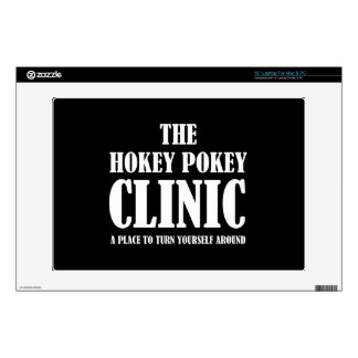 Clínica del Pokey de Hokey Calcomanía Para Portátil