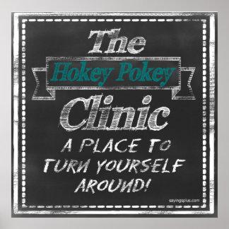 Clínica del Pokey de Hokey Poster