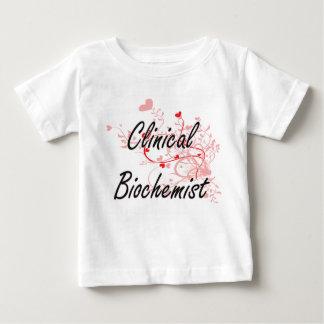 Clinical Biochemist Artistic Job Design with Heart Shirts
