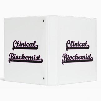 Clinical Biochemist Classic Job Design Binders