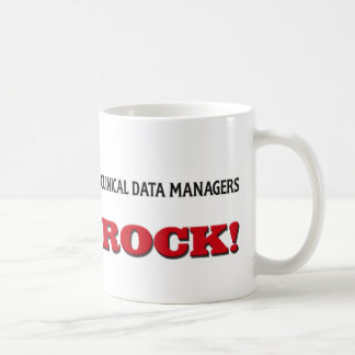 Clinical Data Managers Rock Classic White Coffee Mug