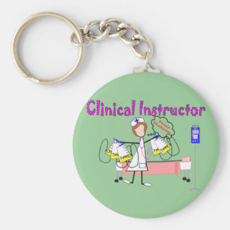 Clinical Instructor Those Students Gifts Key Chain