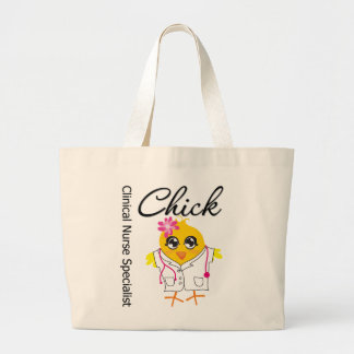 Clinical Nurse Specialist Chick v2 Tote Bags