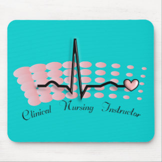 Clinical Nursing Instructor QRS Design Mouse Pad