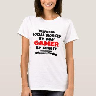 Clinical Social Worker Gamer T-Shirt