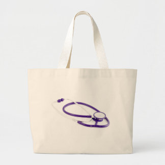 Clinical Stethoscope Large Tote Bag