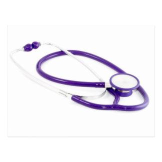 Clinical Stethoscope Postcard