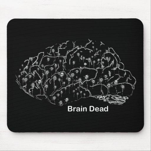 Clínicamente muerto alfombrilla de raton