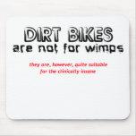 Clínico insano - motocrós de la bici de la sucieda tapetes de raton