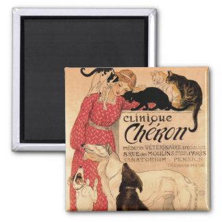 Clinique Cheron 2 Inch Square Magnet