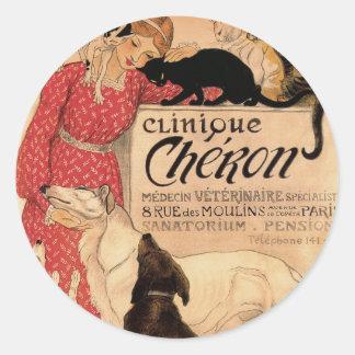 Clinique Cheron Classic Round Sticker