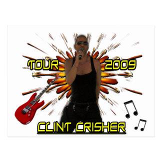 Clint Crisher 2009 Front/Back Postcard