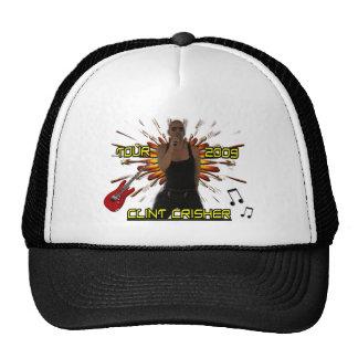 Clint Crisher 2009 Front/Back Trucker Hat