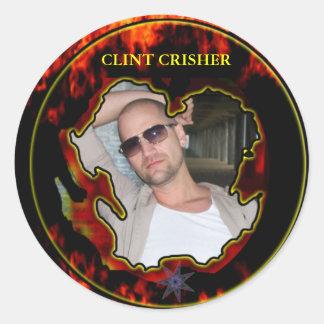 CLINT CRISHER STICKER