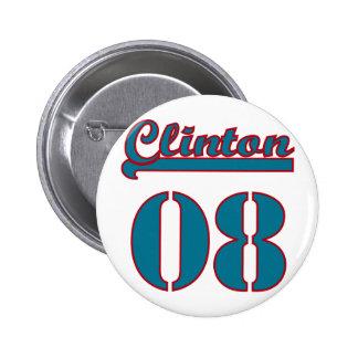 Clinton 2008 buttons